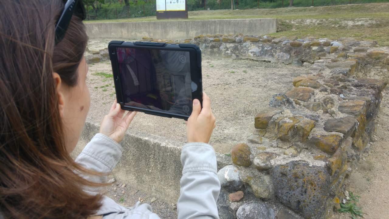 """Visita guiada """"Vilauba en 3D: Entrem a la vil·la romana"""""""