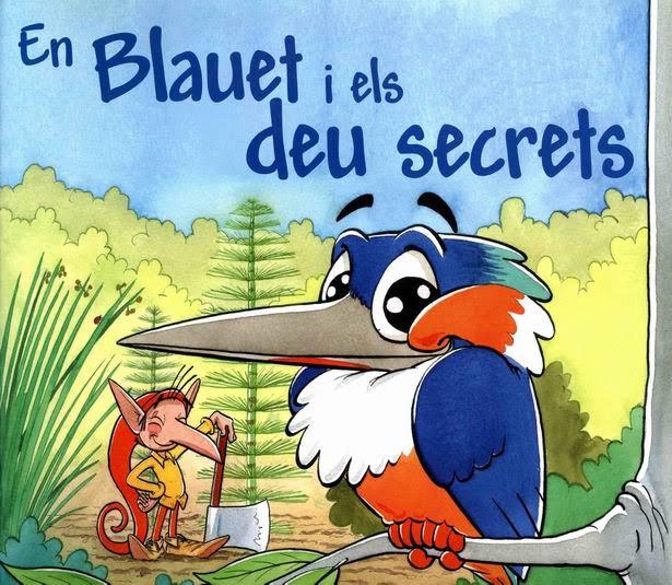 """Activitat familiar """"En Blauet i els deu secrets"""""""