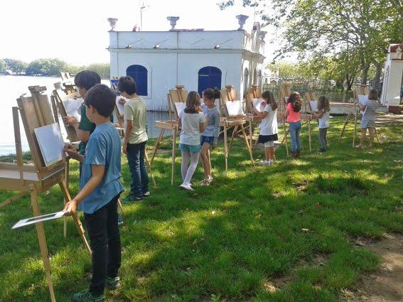 """Activitat familiar """"Fes créixer el petit artista a càrrec de Gonzalo Tabuenca"""""""