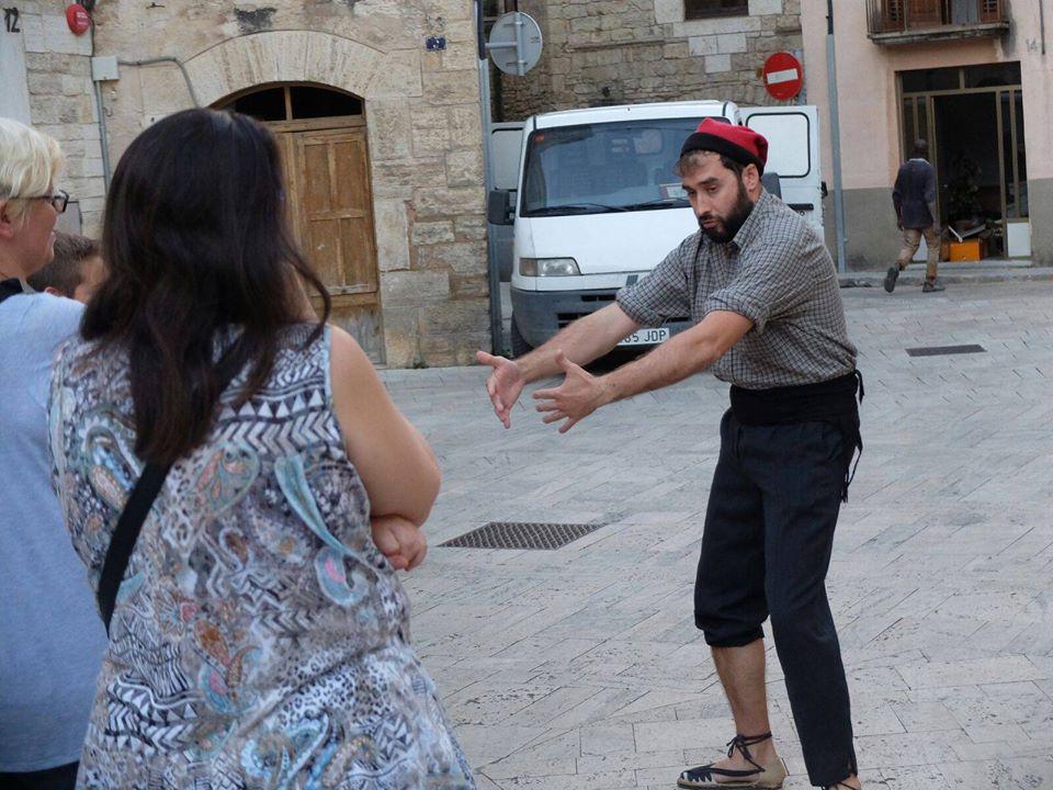 """Visita teatralitzada """"Que arriba l'abat!"""""""