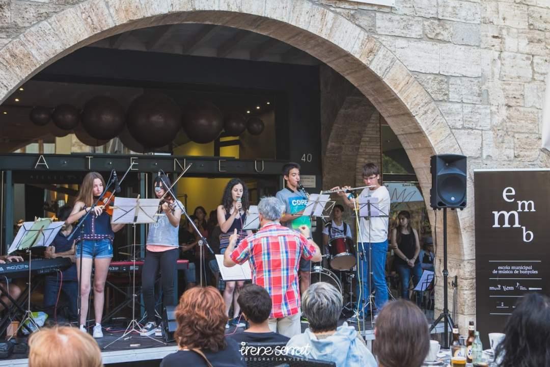Concert de combos de l'Escola Municipal de Música de Banyoles