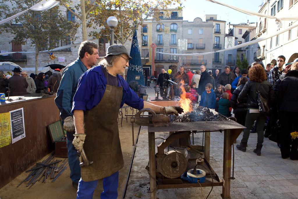 IX Fira de nadal i mostra d'oficis artesans de Banyoles
