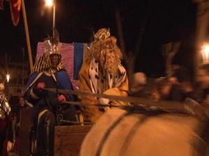 Obertura del campament de reis d'orient i arribada de SES Majestats d'Esponellà