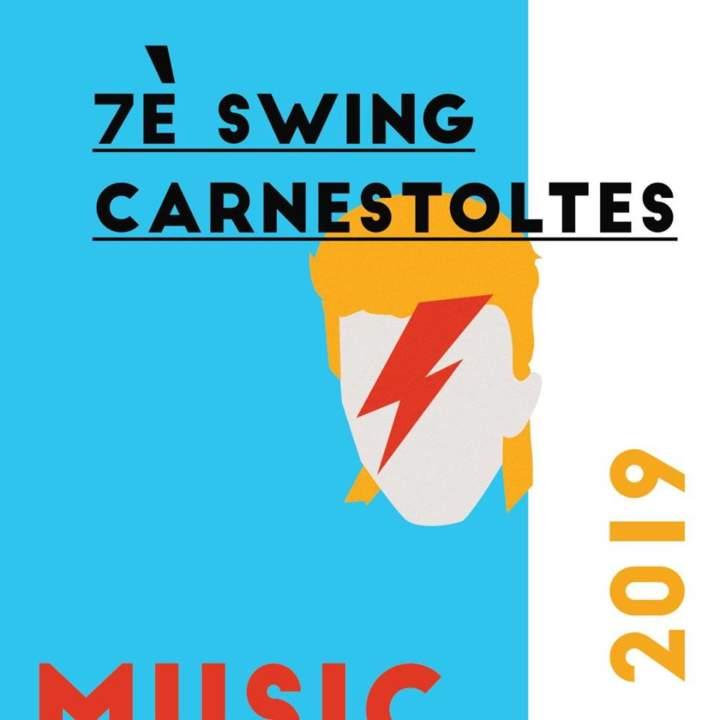 7è Swing Carnestoltes de Porqueres. Music Stars