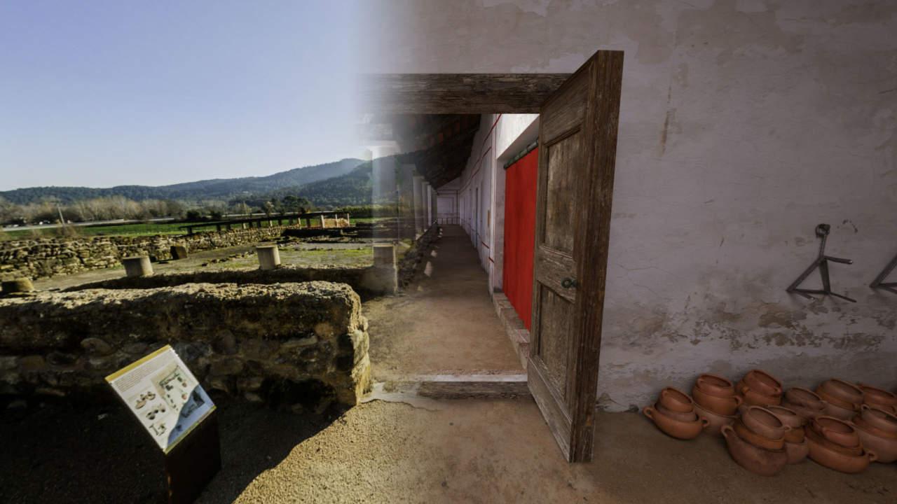 Visites guiades - Vilauba en 3D