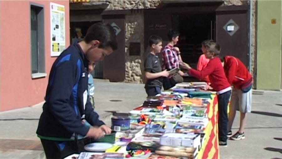Diada de Sant Jordi a Cornellà del Terri