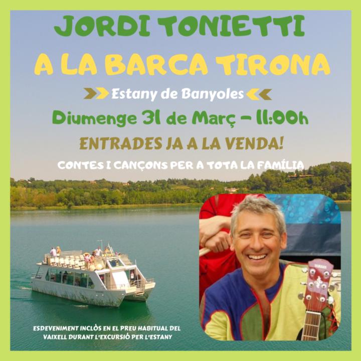 Concert infantil a càrrec de Jordi Tonietti