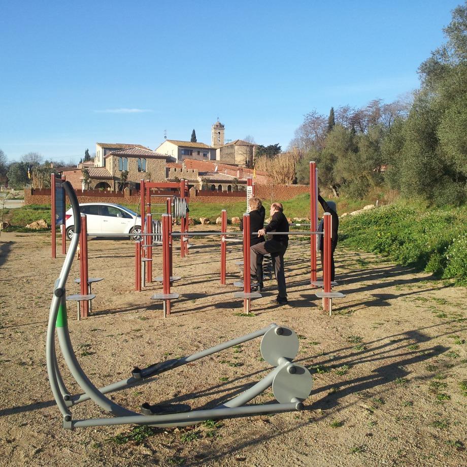 Dinamització als parcs urbans i als itineraris saludables de Vilavenut, Fontcoberta