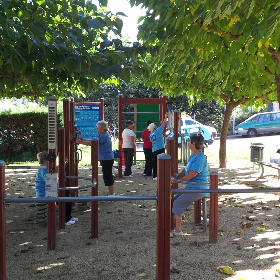 Dinamització als parcs urbans i als itineraris saludables de Serinyà