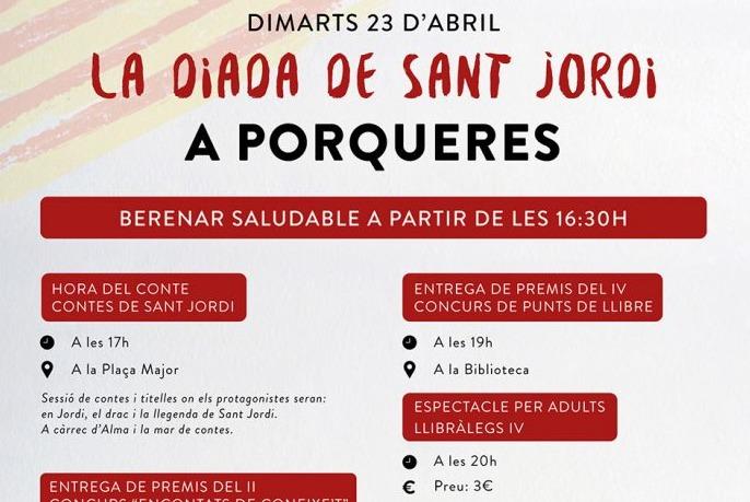 Diada de Sant Jordi a Porqueres
