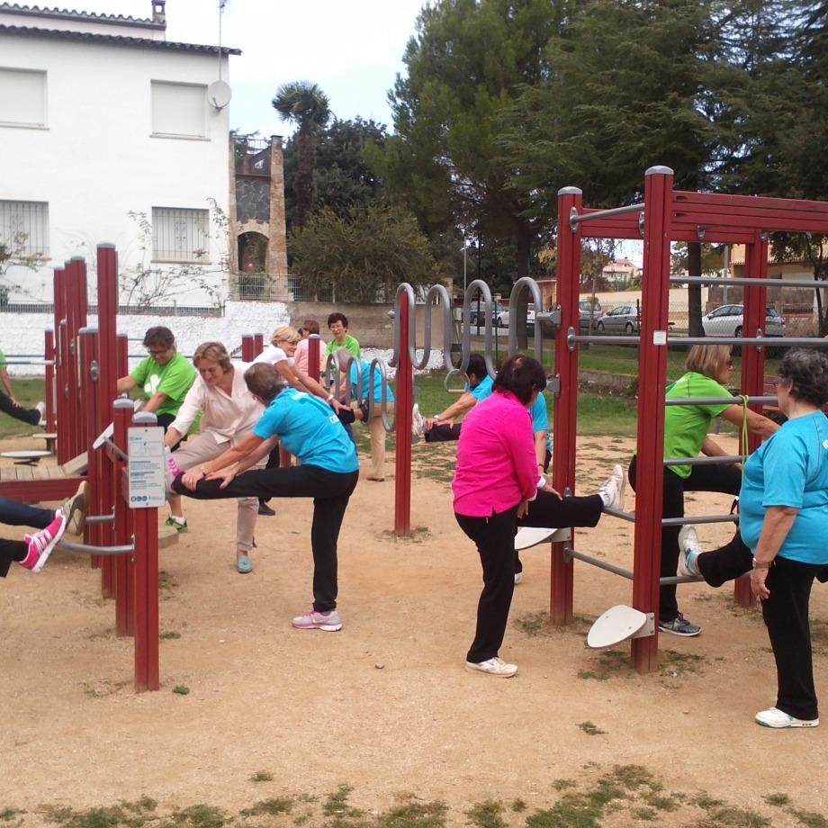 Dinamització als parcs urbans i als itineraris saludables de Banyoles - Can Sisó
