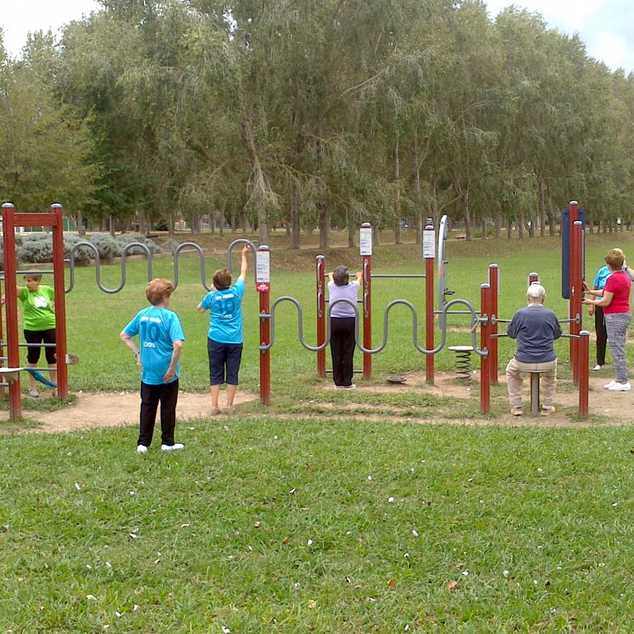Dinamització als parcs urbans i als itineraris saludables de Banyoles - La Draga