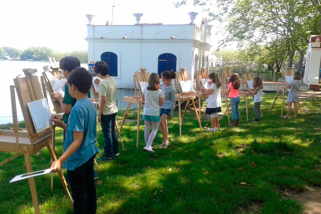 Taller infantil - Fes créixer el petit artista a càrrec de Gonzalo Tabuenca