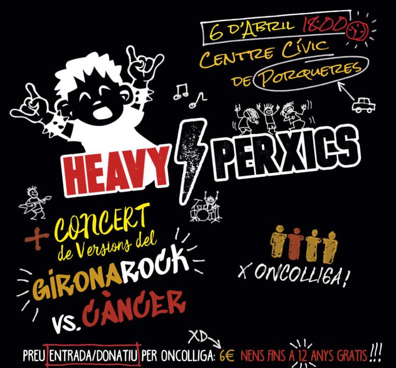 Gironarock vs Càncer + Heavy per Xics