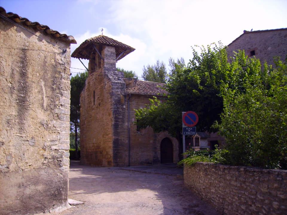 Inauguració de la rehabilitació de l'escultura de Sant Andreu de Mata, Porqueres