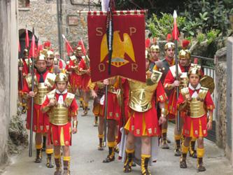 Lliurament dels pendons - Festa de la Mare de Déu dels Dolors de Banyoles