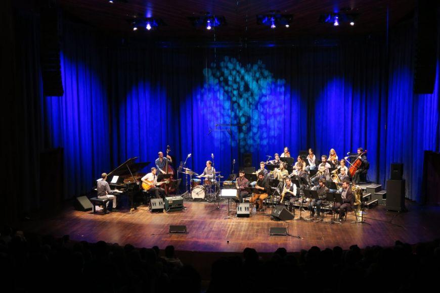 Música jazz i clàssica - Consagració amb Néstor Giménez Orchestra