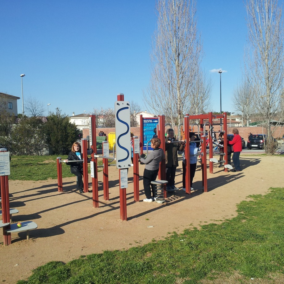 Dinamització als parcs urbans i als itineraris saludables de Banyoles - Manel Saderra