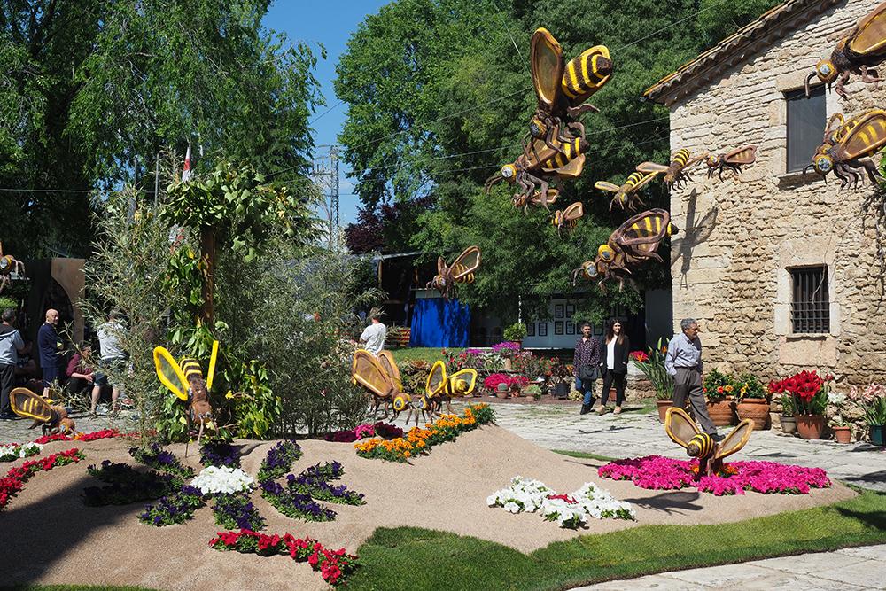 14a Exposició de flors de Porqueres
