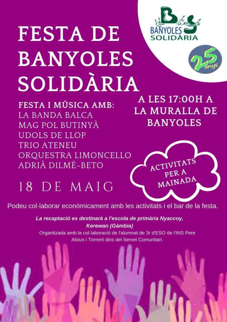 25è aniversari Festa Banyoles Solidària