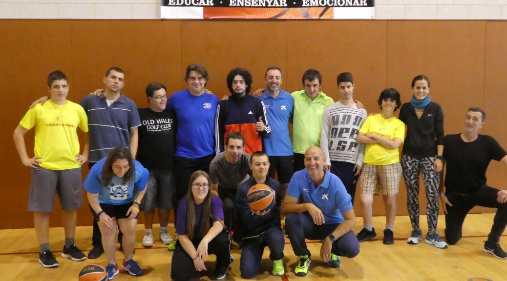 3a Trobada de bàsquet per persones discapacitats