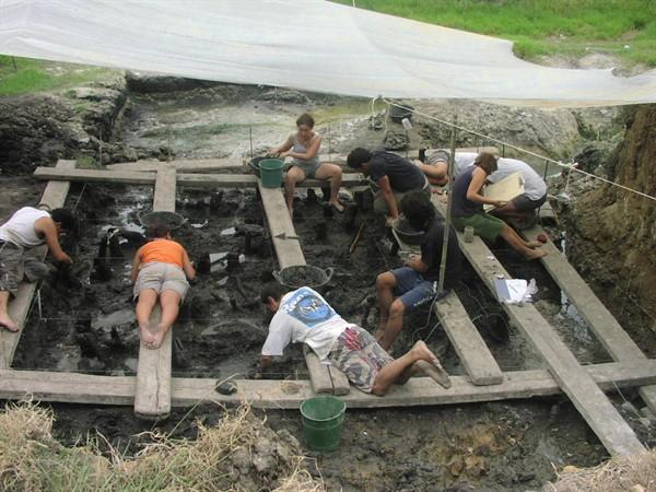 Visita guiada - Què ens expliquen els arqueòlegs del parc de La Draga de Banyoles?
