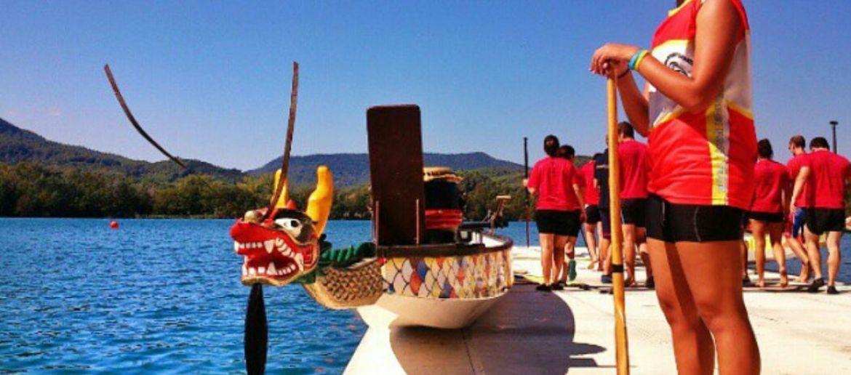 Activitat familiar - Dragonboat: les barques del drac de Banyoles