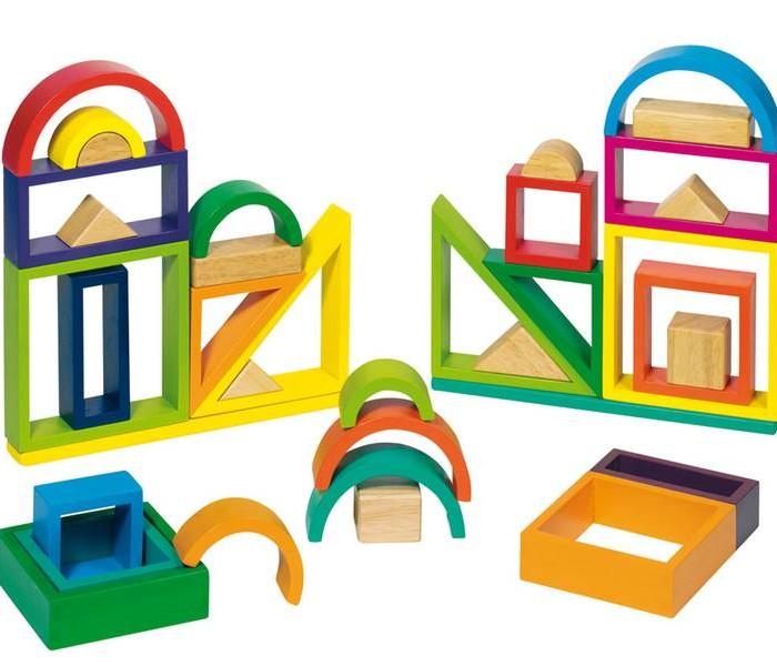 Tarda de jocs infantils - Jocs de fusta i construccions