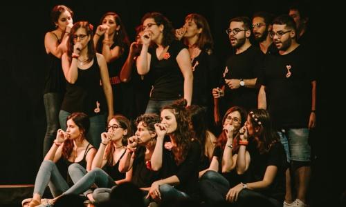 Dimarts Festival d'arts i cultura a Cornellà del Terri - Cor de porcs