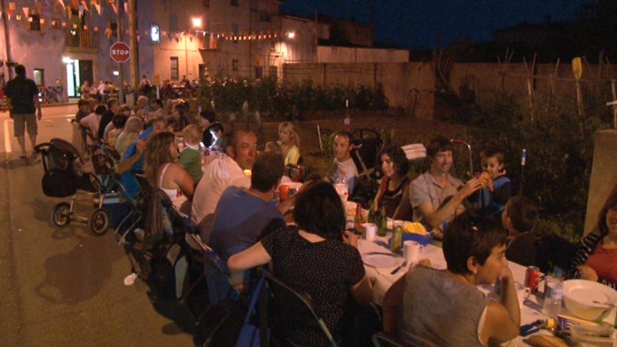 Festa del carrer i la travessia del Carme de Cornellà del Terri