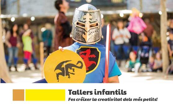Tallers infantils - Fem escuts, espases i màscares medievals!