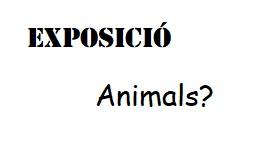 Exposició - Animals?
