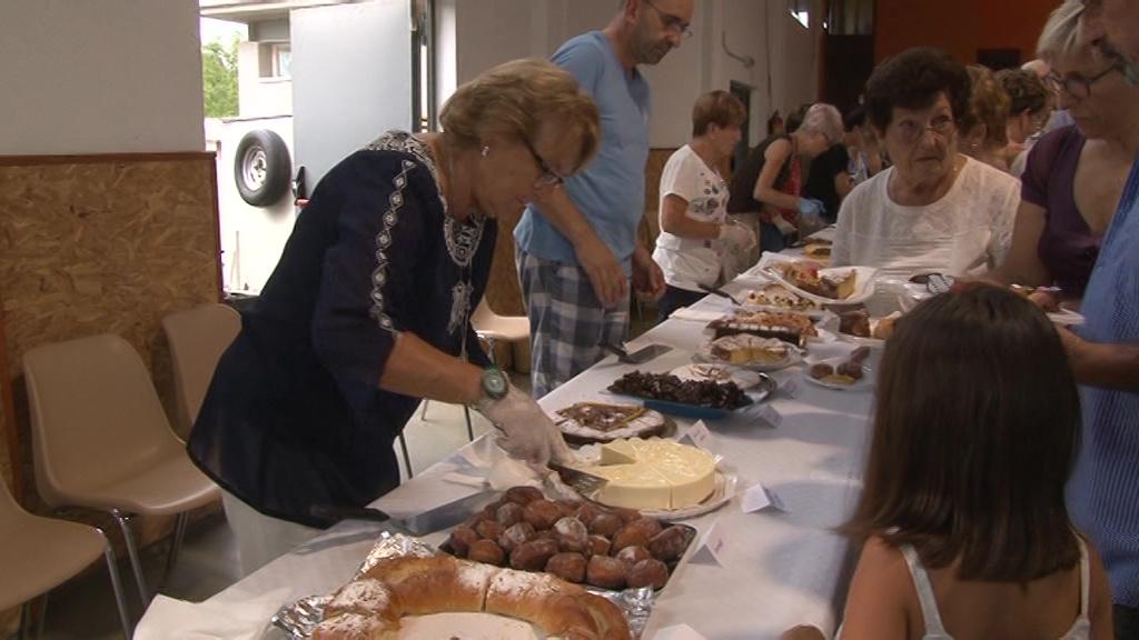 Festa del pastís a Cornellà del Terri
