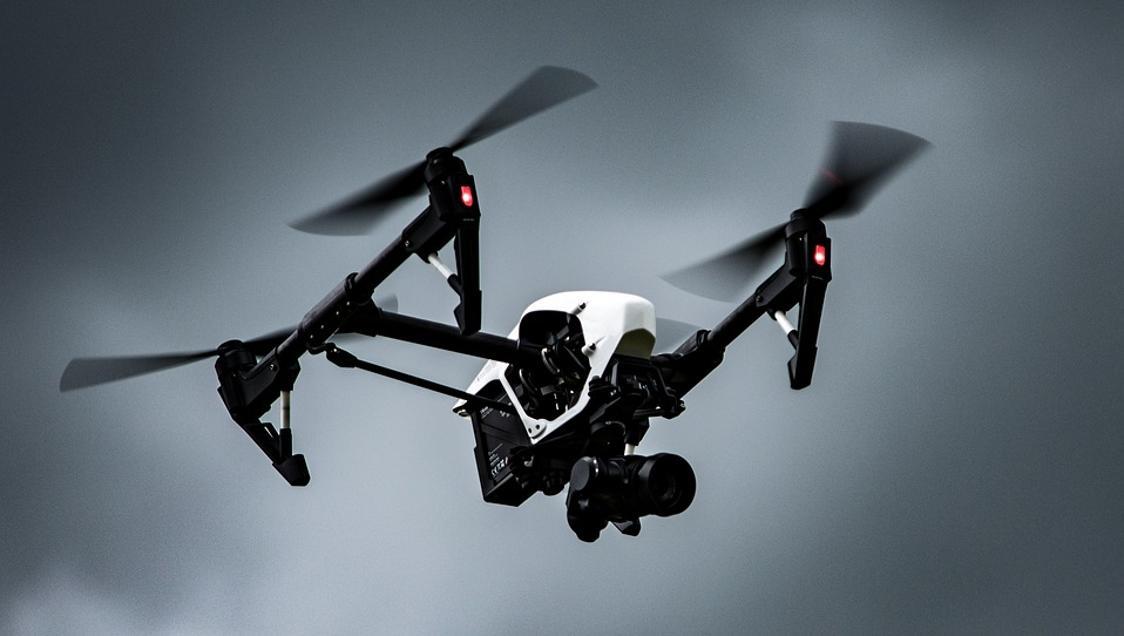 Exhibició de drons de competició a Porqueres