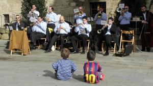 Festa del Terme . Sardanes a Banyoles
