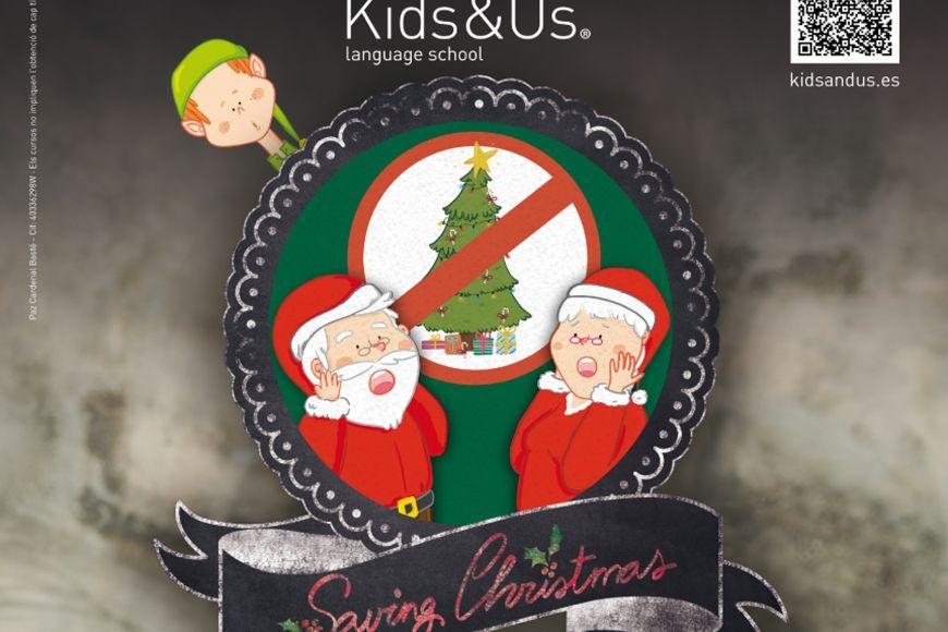 Contes en anglès: Saving Christmas - By Kids & us