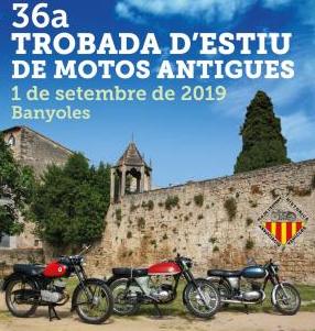 36a Trobada d'estiu de motos antigues a Banyoles