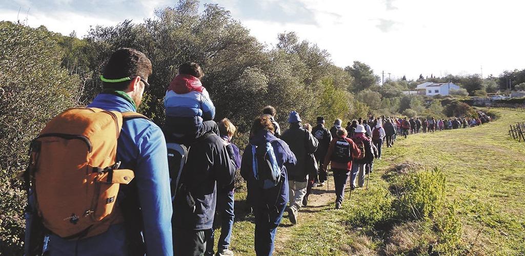 Caminada popular a Serinyà