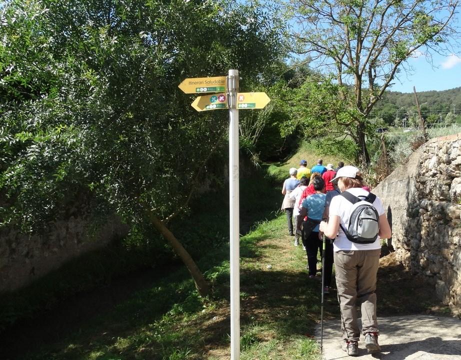 Fem camí a Serinyà