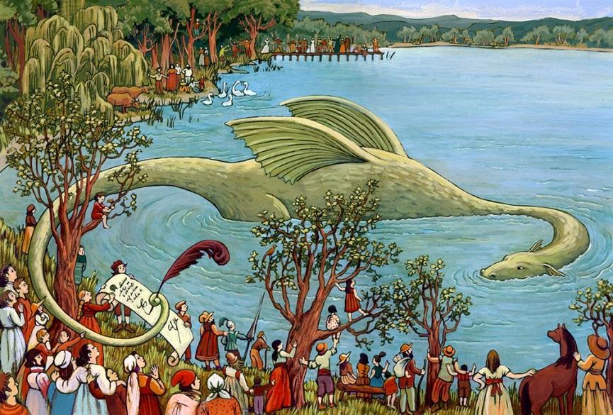 Xerrada - Les antigues festes de Banyoles i el drac de Banyoles