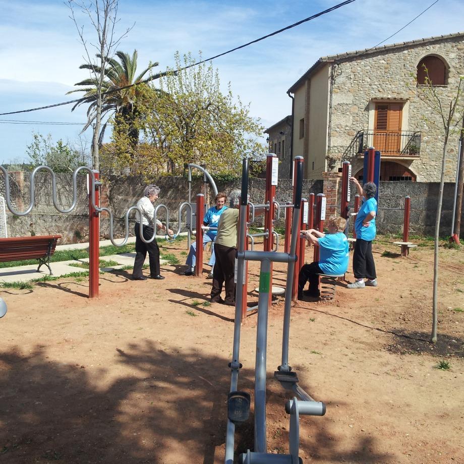 Dinamització als parcs urbans i als itineraris saludables de Esponellà