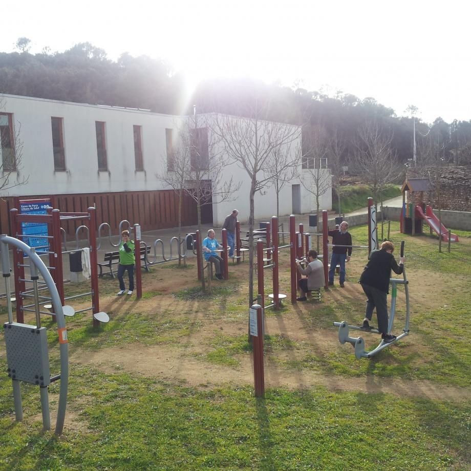 Dinamització als parcs urbans i als itineraris saludables de Crespià