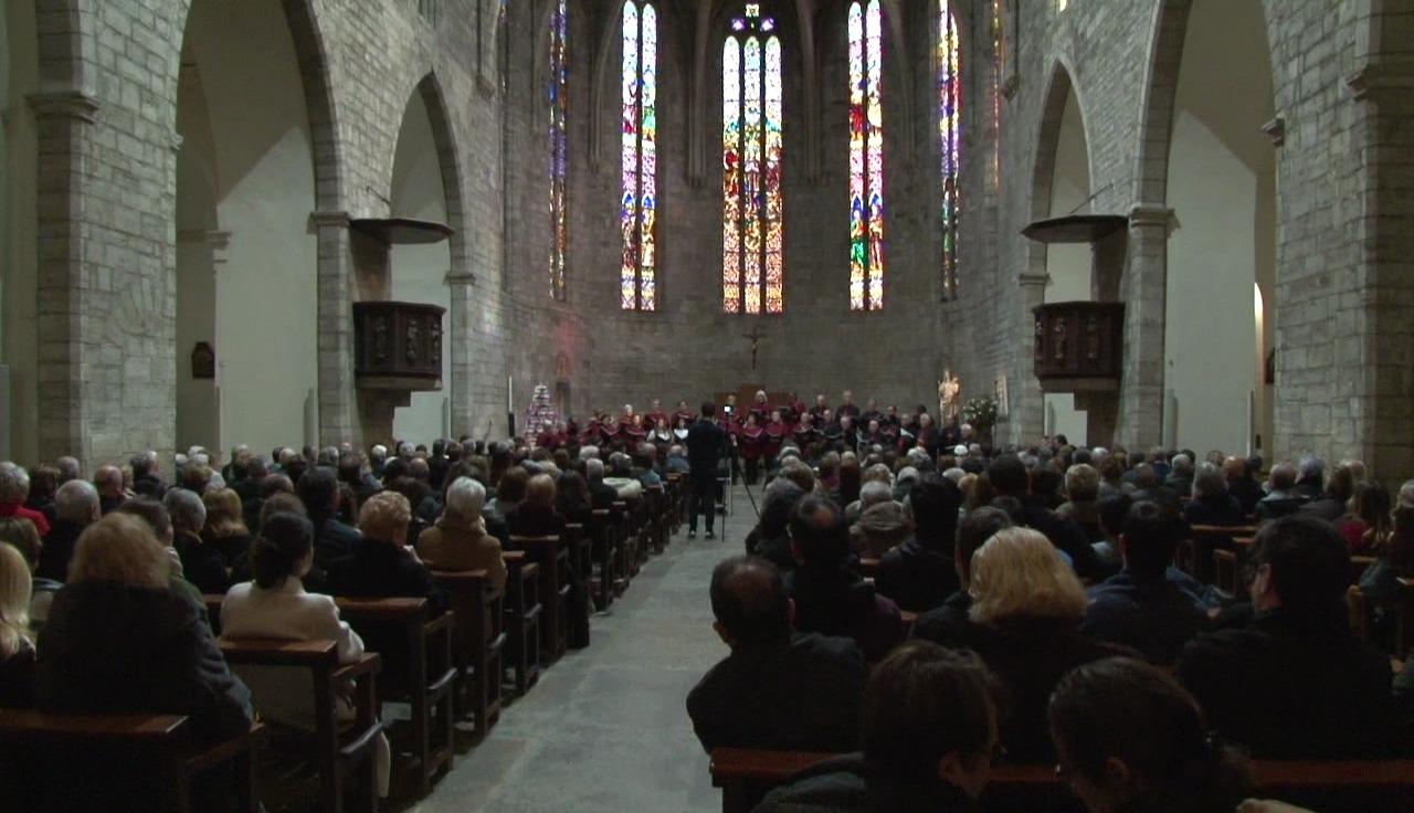Celebració de Santa Cecília a Banyoles