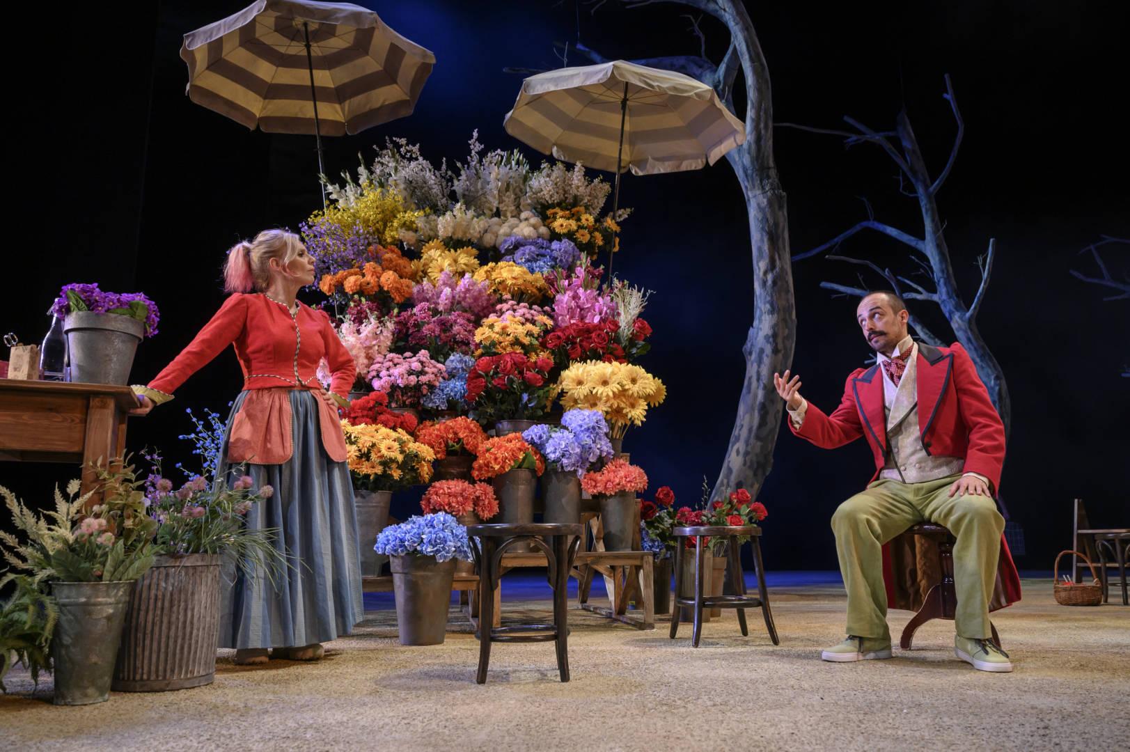 Llegir teatre -  La rambla de les floristes