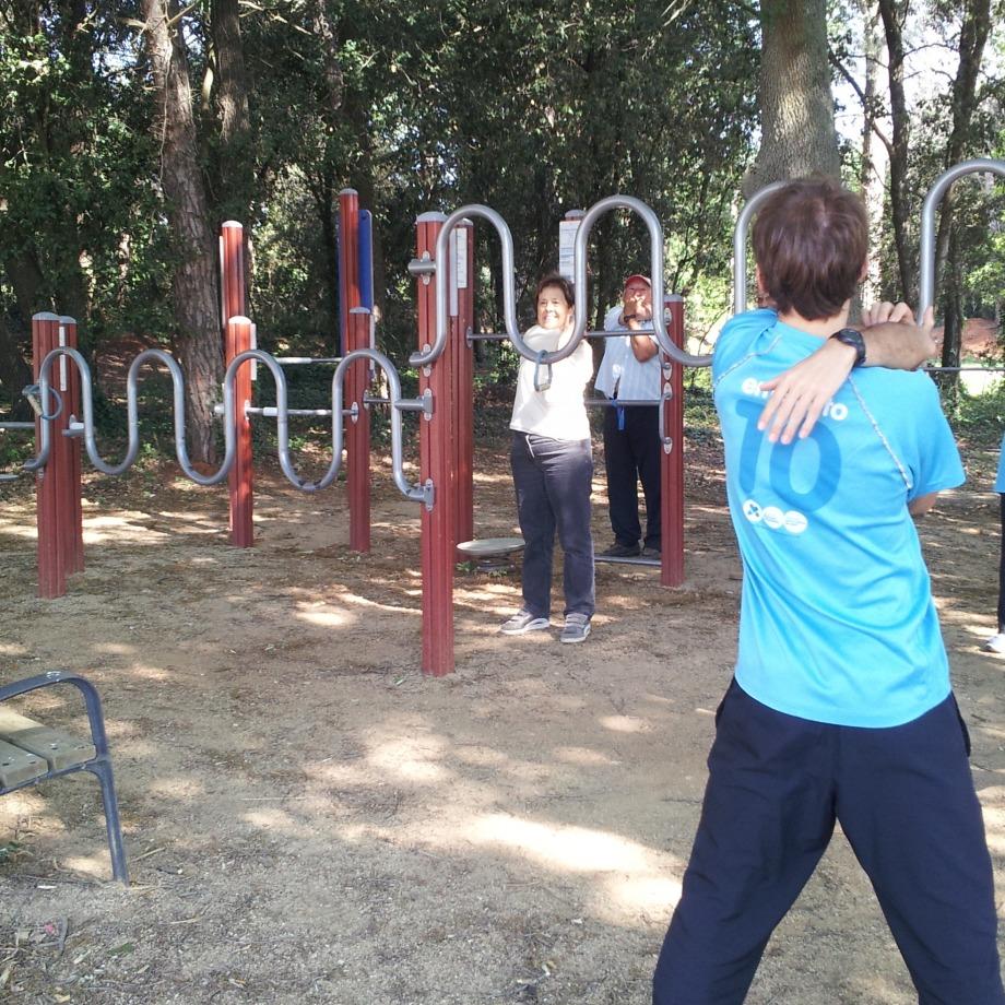 Dinamització als parcs urbans i als itineraris saludables de Melianta, Fontcoberta