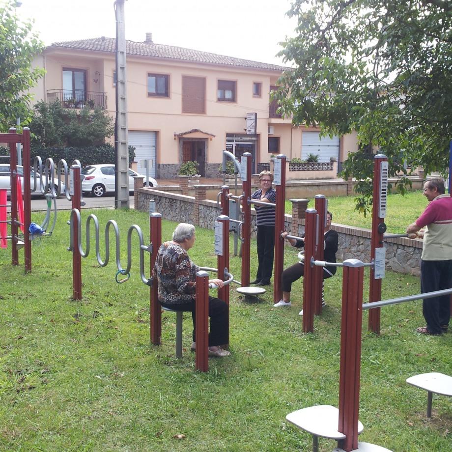 Dinamització als parcs urbans i als itineraris saludables de Cornellà del Terri - Borgonyà