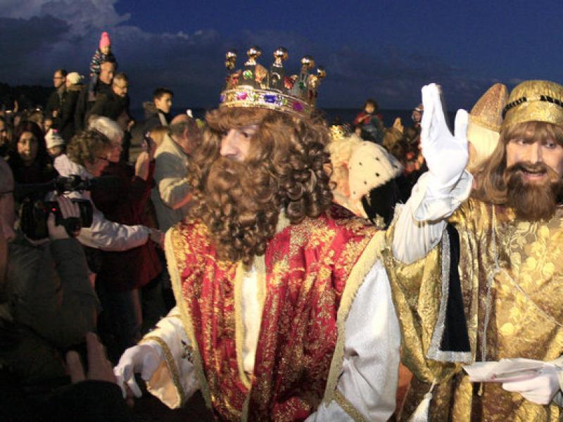 Arriben els Majestats els Reis d'Orient a Sant Miquel