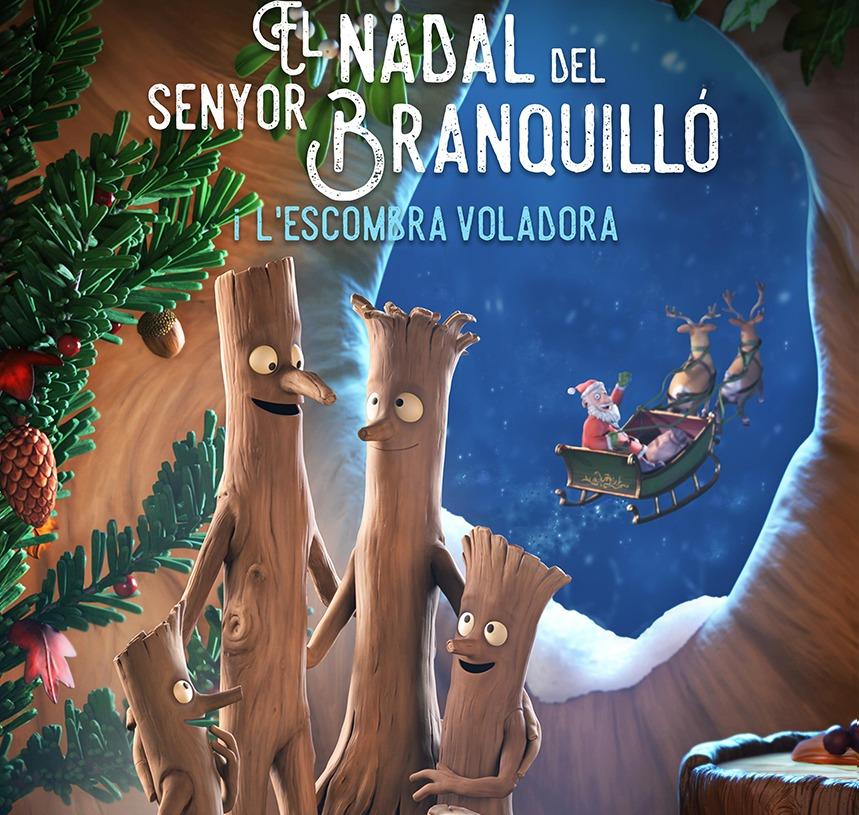 Bibliocinema -  El Nadal del senyor Branquilló