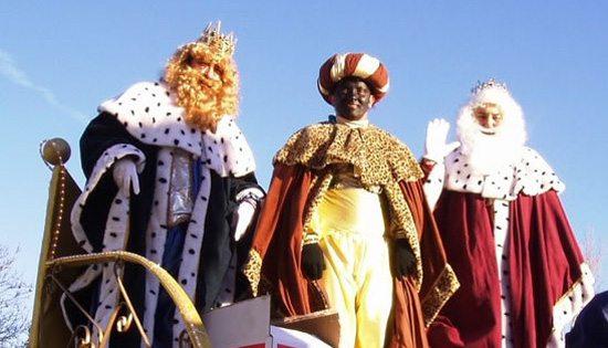Preparació de l'arribada dels Reis Mags d'Orient a Serinyà