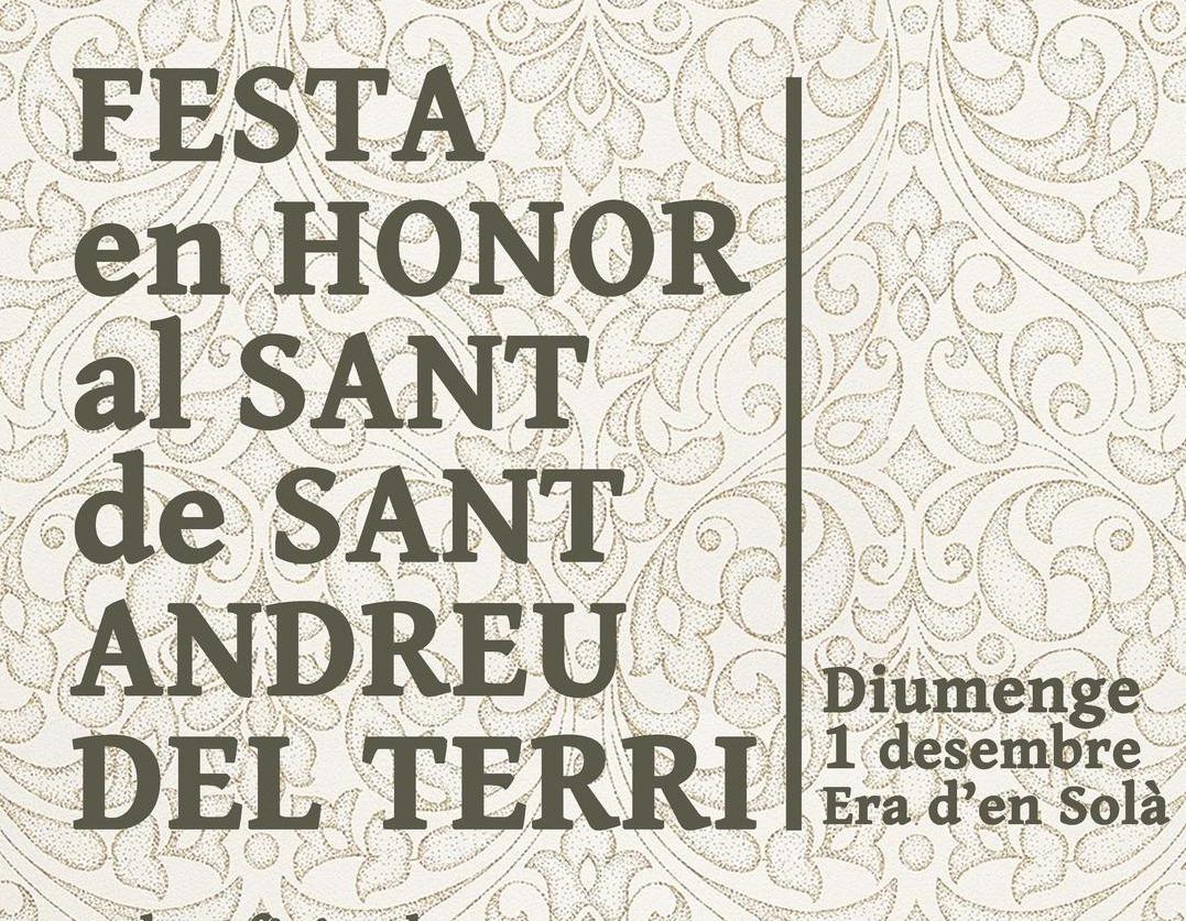 Festa Major de Sant Andreu del Terri